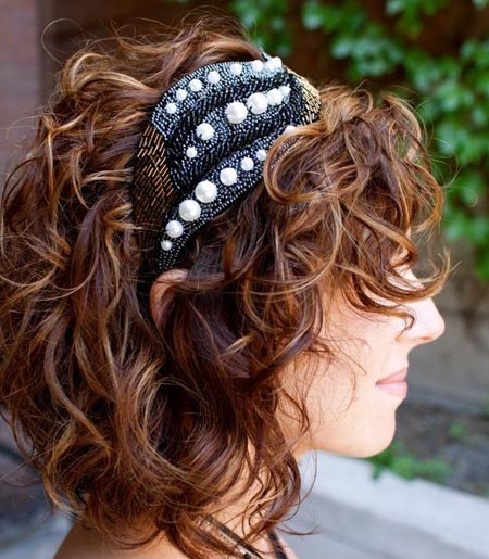 Sequins and Pearl Headband