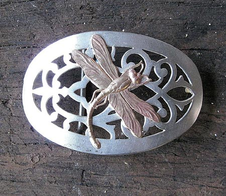 Dragonfly Belt Buckle