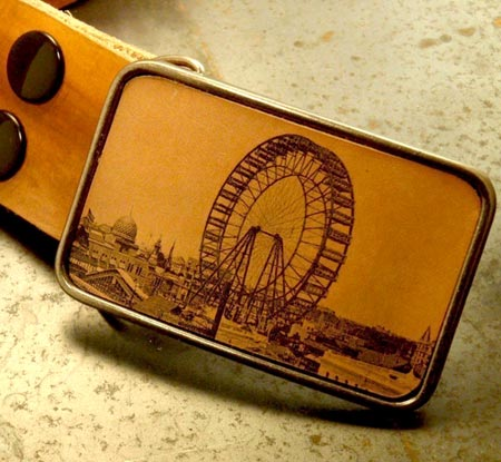 Ferris Wheel Belt Buckle