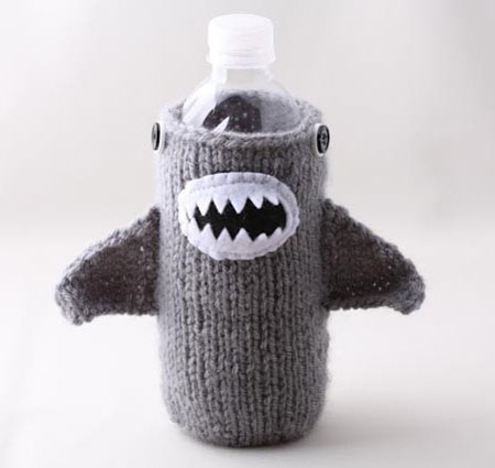 Shark Bottle Cozy