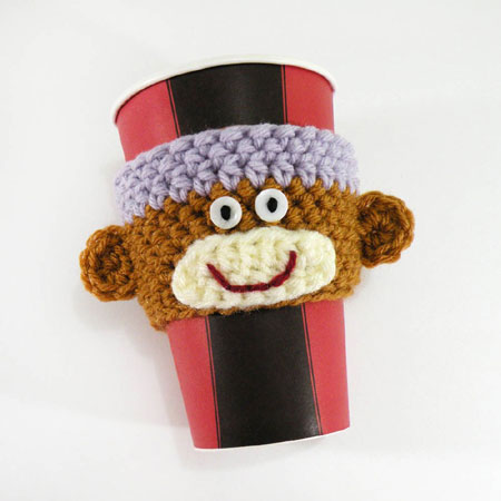 Crochet Coffee Cozy Free Pattern | JJCrochet's Blog