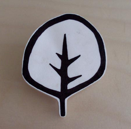 Modern Tree Brooch