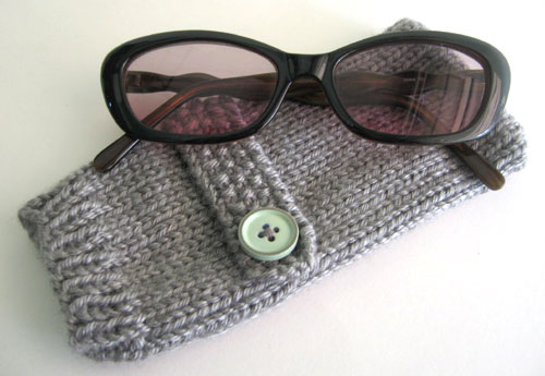 Knitted Sunglasses Case