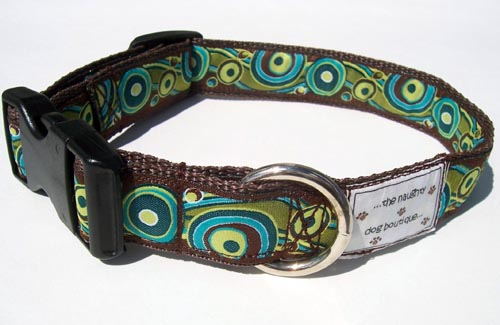 Modern Circles Dog Collar