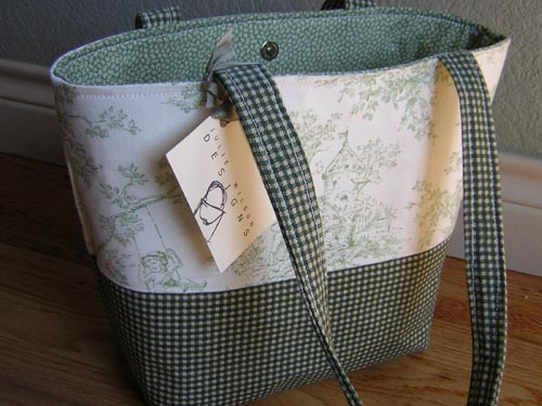 Sage Green Diaper Bag