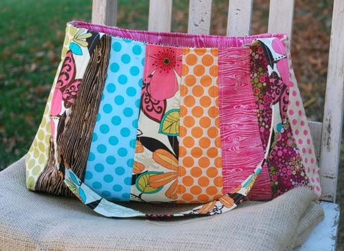 Quilted Patchwork Purse