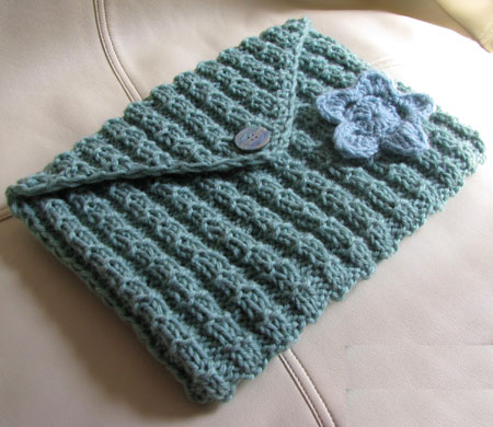 Sage Green Knit Tablet Case