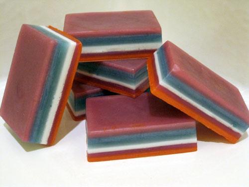 Layered Glycerin Soap