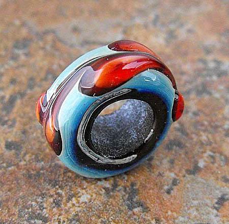 Biagi Style Lampwork Bead