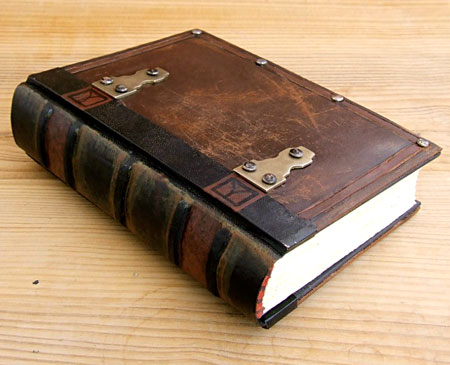 Upcycled Brown Leather Journal