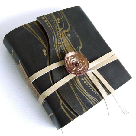 Handbound Olive Leather Journal
