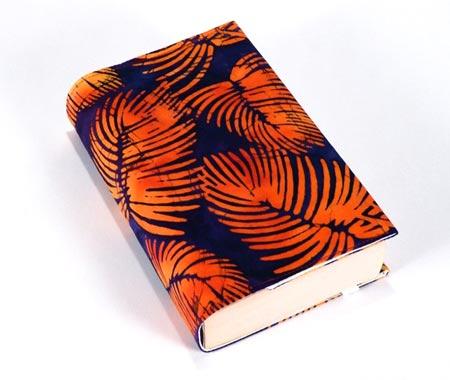 Batik Print Handmade Book Cover