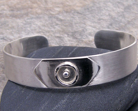 Solid Band Sterling Silver Cuff