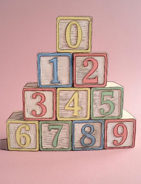 Number Blocks Print