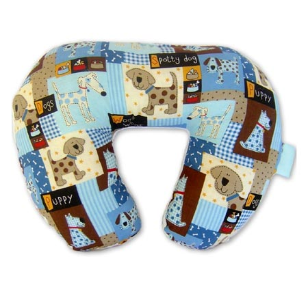 Toddler Puppy Print Neck Wrap