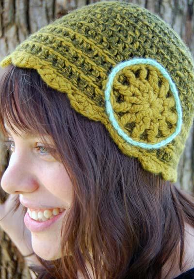 Crochet Cashmere Beanie Hat
