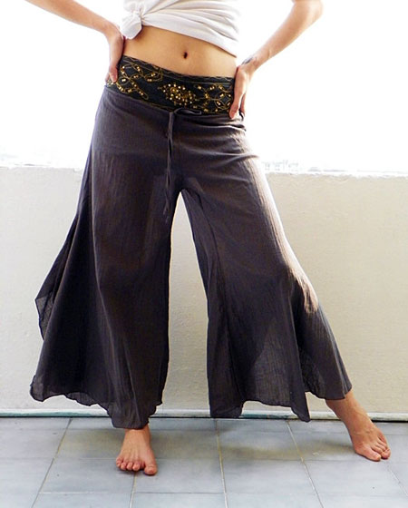 Loose Cotton Gypsy Pants
