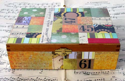 Decoupage Art | Treasure Box by Haru
