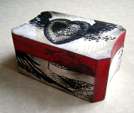 Decoupage Keepsake Box