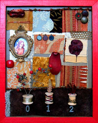 Mixed-Media Found Object Assemblage