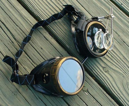 Steampunk Cyber Goggles