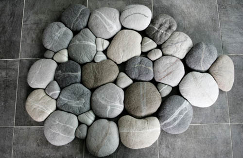 Felted Pebbles Carpet