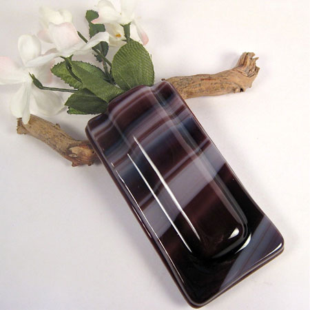 Fused Glass Pocket Vase