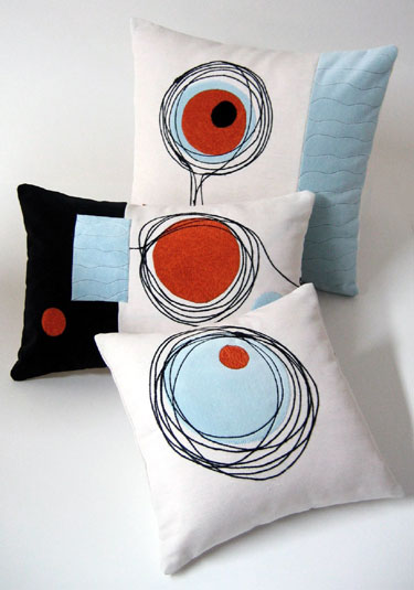 Modern Geometric Pillows