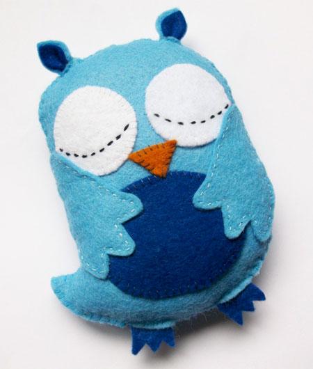 Felt Owl Plushie