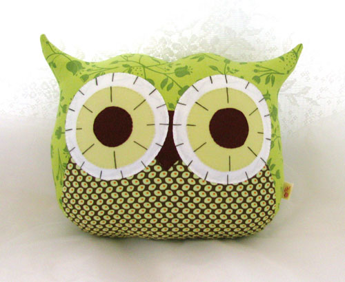 Owl Pillow Plushie