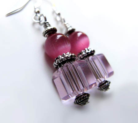 Think Pink Earrings