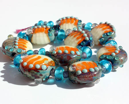 Lampwork Button Beads