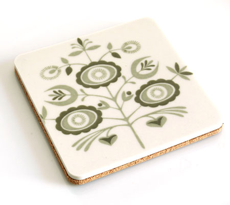 Recycled China Plate Coaster