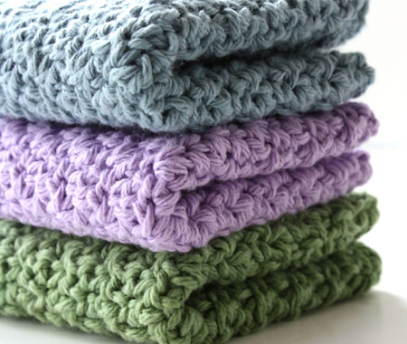 Dish Towel Tops - This is for crocheting a top on dish towels.