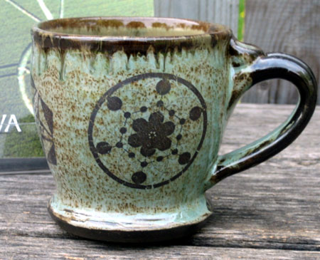 Crop Circles Ceramic Mug