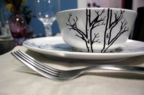 Hand Painted Dinner Place Settings