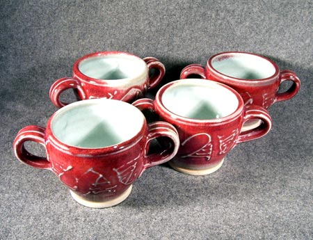 Handled Soup Mugs