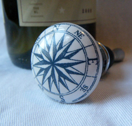 Compass Wine Bottle Stopper