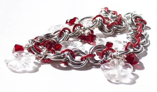 Mobius Chainmail Bracelet