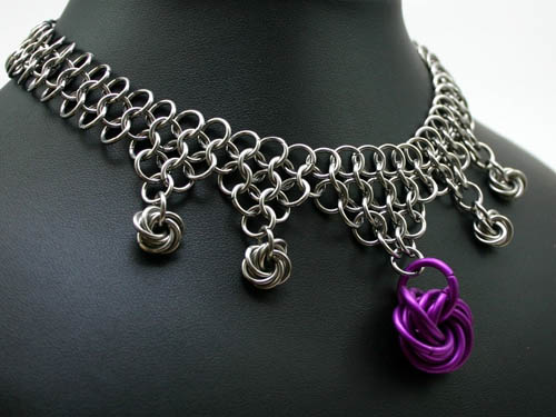 Moebius Ball Chainmaille Necklace