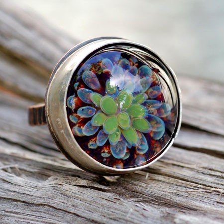 Floral Bloom Cocktail Ring