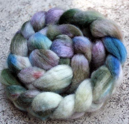 Hand Dyed Shetland Wool