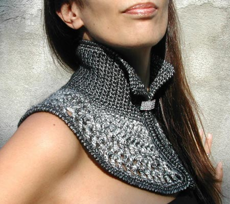 Stylish Crochet Collar