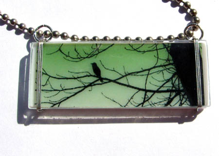 Bird In A Tree Pendant