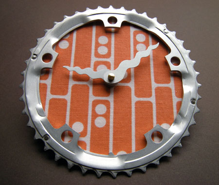 Bicycle Sprocket Clock