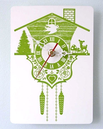 Printed Cuckoo Clock