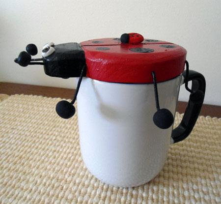 Ladybug Mug Cover
