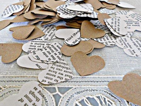 Paper Hearts Confetti