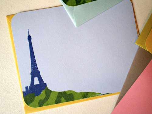 Eiffel Tower Notecards