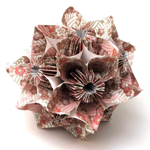 How to make Origami Balls - Step-by-step Guide.
